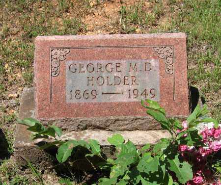 HOLDER, GEORGE M. D. - Lawrence County, Arkansas   GEORGE M. D. HOLDER - Arkansas Gravestone Photos