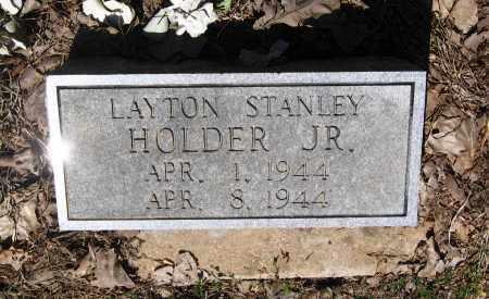 HOLDER, JR., LAYTON STANLEY - Lawrence County, Arkansas | LAYTON STANLEY HOLDER, JR. - Arkansas Gravestone Photos