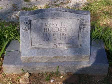 HOLDER, MARY L. - Lawrence County, Arkansas | MARY L. HOLDER - Arkansas Gravestone Photos