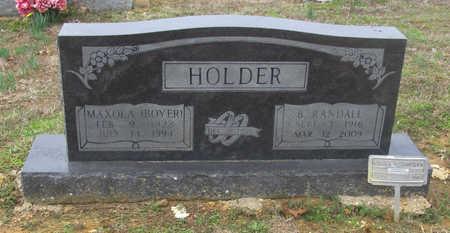 BOYER HOLDER, MAXOLA E. - Lawrence County, Arkansas | MAXOLA E. BOYER HOLDER - Arkansas Gravestone Photos