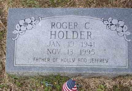 HOLDER, ROGER C. - Lawrence County, Arkansas | ROGER C. HOLDER - Arkansas Gravestone Photos