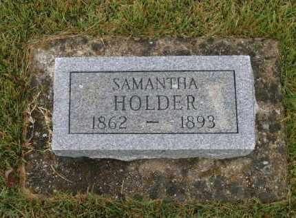 HOLDER, SAMANTHA - Lawrence County, Arkansas | SAMANTHA HOLDER - Arkansas Gravestone Photos