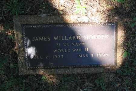 HOLDER (VETERAN WWII), JAMES WILLARD - Lawrence County, Arkansas | JAMES WILLARD HOLDER (VETERAN WWII) - Arkansas Gravestone Photos