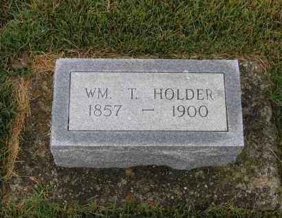 HOLDER, WILLIAM THOMAS - Lawrence County, Arkansas   WILLIAM THOMAS HOLDER - Arkansas Gravestone Photos
