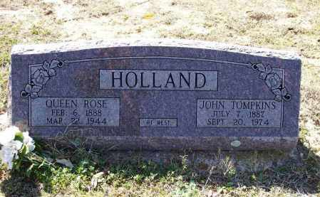 HOLLAND, QUEEN ROSE - Lawrence County, Arkansas | QUEEN ROSE HOLLAND - Arkansas Gravestone Photos