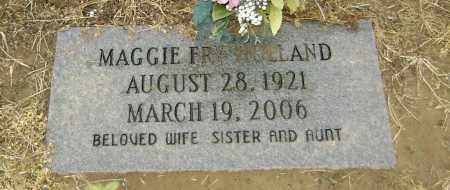 HOLLAND, MAGGIE - Lawrence County, Arkansas | MAGGIE HOLLAND - Arkansas Gravestone Photos