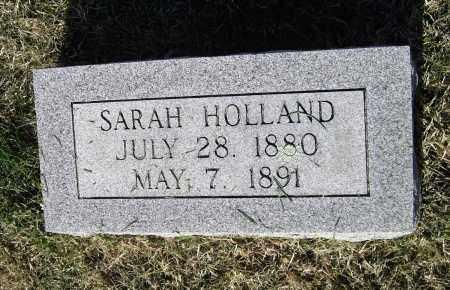 HOLLAND, SARAH - Lawrence County, Arkansas   SARAH HOLLAND - Arkansas Gravestone Photos