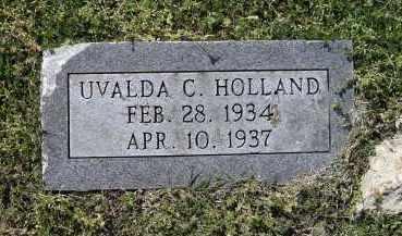 HOLLAND, UVALDA CHRISTINE - Lawrence County, Arkansas | UVALDA CHRISTINE HOLLAND - Arkansas Gravestone Photos