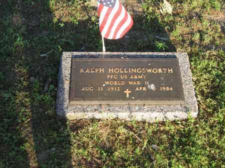 HOLLINGSWORTH (VETERAN WWII), RALPH - Lawrence County, Arkansas | RALPH HOLLINGSWORTH (VETERAN WWII) - Arkansas Gravestone Photos