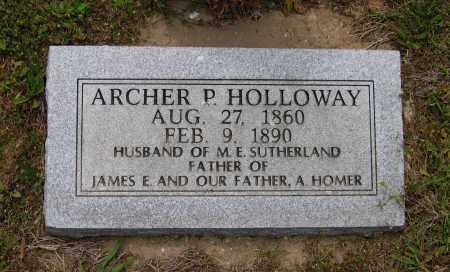 HOLLOWAY, ARCHER PHILLIP - Lawrence County, Arkansas | ARCHER PHILLIP HOLLOWAY - Arkansas Gravestone Photos