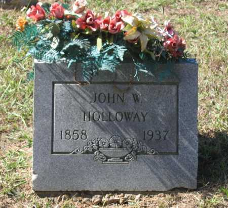 HOLLOWAY, JOHN W. - Lawrence County, Arkansas | JOHN W. HOLLOWAY - Arkansas Gravestone Photos