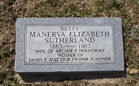 WHITTAKER, MANERVA ELIZABETH SUTHERLAND - Lawrence County, Arkansas | MANERVA ELIZABETH SUTHERLAND WHITTAKER - Arkansas Gravestone Photos