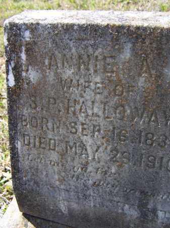 "COZORT HOLLOWAY, NANCY ALMEDIA ANN ""ANNIE A."" - Lawrence County, Arkansas   NANCY ALMEDIA ANN ""ANNIE A."" COZORT HOLLOWAY - Arkansas Gravestone Photos"