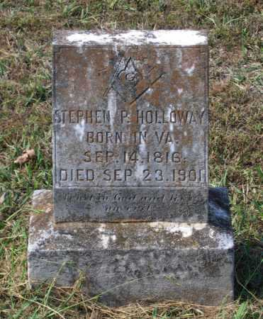 HOLLOWAY, STEPHEN POWERS - Lawrence County, Arkansas | STEPHEN POWERS HOLLOWAY - Arkansas Gravestone Photos