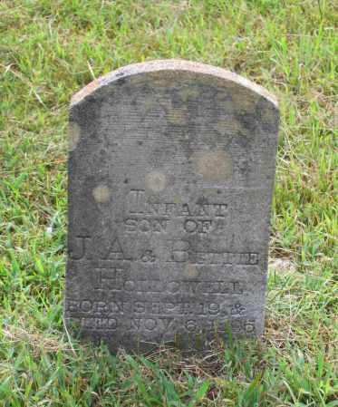 HOLLOWELL, INFANT SON - Lawrence County, Arkansas   INFANT SON HOLLOWELL - Arkansas Gravestone Photos