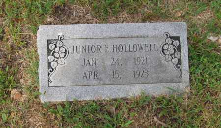 HOLLOWELL, JUNIOR E. - Lawrence County, Arkansas | JUNIOR E. HOLLOWELL - Arkansas Gravestone Photos