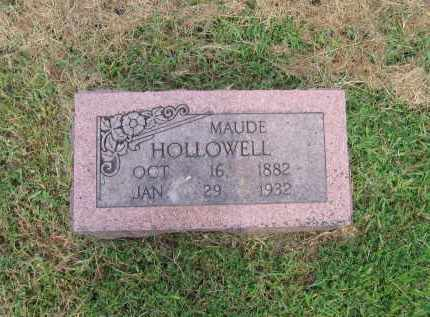 """HOLLOWELL, LILLIE MAUDE """"MAUDIE"""" - Lawrence County, Arkansas 