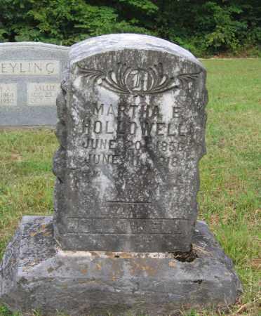 HOLLOWELL, MARTHA ELIZABETH - Lawrence County, Arkansas | MARTHA ELIZABETH HOLLOWELL - Arkansas Gravestone Photos