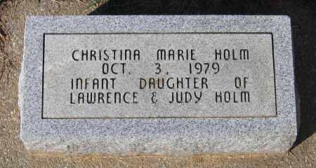 HOLM, CHRISTINA MARIE - Lawrence County, Arkansas   CHRISTINA MARIE HOLM - Arkansas Gravestone Photos