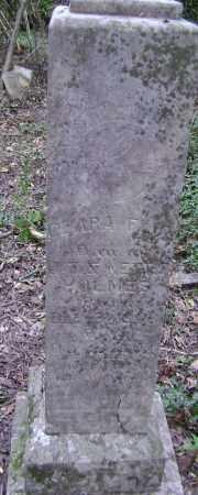 HOLMES, CLARA FLOE - Lawrence County, Arkansas | CLARA FLOE HOLMES - Arkansas Gravestone Photos