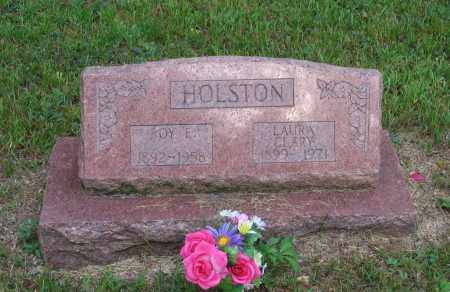 CLARY HOLSTON, LAURA CLARA - Lawrence County, Arkansas | LAURA CLARA CLARY HOLSTON - Arkansas Gravestone Photos
