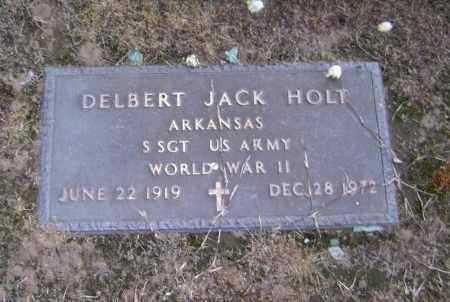 HOLT  (VETERAN WWII), DELBERT JACK - Lawrence County, Arkansas | DELBERT JACK HOLT  (VETERAN WWII) - Arkansas Gravestone Photos