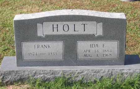 HOLT, IDA FRANCES - Lawrence County, Arkansas | IDA FRANCES HOLT - Arkansas Gravestone Photos