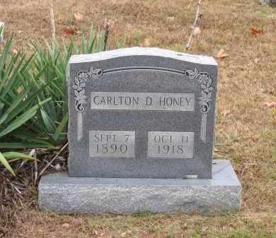 HONEY, CARLTON D. - Lawrence County, Arkansas | CARLTON D. HONEY - Arkansas Gravestone Photos