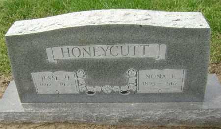 HOOKER HONEYCUTT, NONA F. - Lawrence County, Arkansas | NONA F. HOOKER HONEYCUTT - Arkansas Gravestone Photos