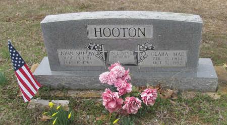 HOOTEN, JOHN SHELBY - Lawrence County, Arkansas | JOHN SHELBY HOOTEN - Arkansas Gravestone Photos
