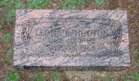 MASSEY HOOTEN, LEONA KATHERINE - Lawrence County, Arkansas | LEONA KATHERINE MASSEY HOOTEN - Arkansas Gravestone Photos