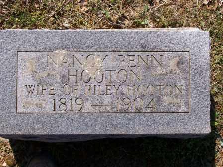 PENN HOOTEN, NANCY - Lawrence County, Arkansas | NANCY PENN HOOTEN - Arkansas Gravestone Photos