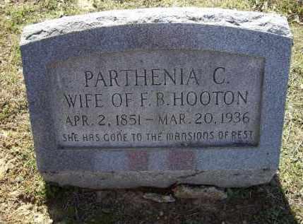 PENN, PARTHENIA C. WADLEY HOOTEN - Lawrence County, Arkansas | PARTHENIA C. WADLEY HOOTEN PENN - Arkansas Gravestone Photos