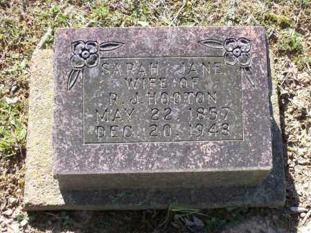 BEARDEN HOOTEN, SARAH JANE - Lawrence County, Arkansas | SARAH JANE BEARDEN HOOTEN - Arkansas Gravestone Photos