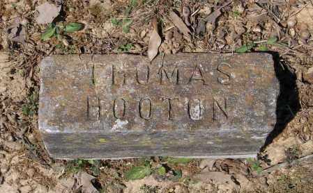 HOOTEN, THOMAS ALFRED - Lawrence County, Arkansas | THOMAS ALFRED HOOTEN - Arkansas Gravestone Photos
