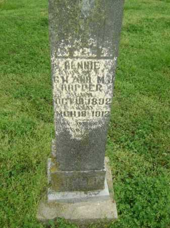 HOPPER, BENNIE - Lawrence County, Arkansas | BENNIE HOPPER - Arkansas Gravestone Photos