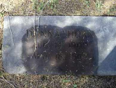 WALLIN HORN, DONNA - Lawrence County, Arkansas | DONNA WALLIN HORN - Arkansas Gravestone Photos