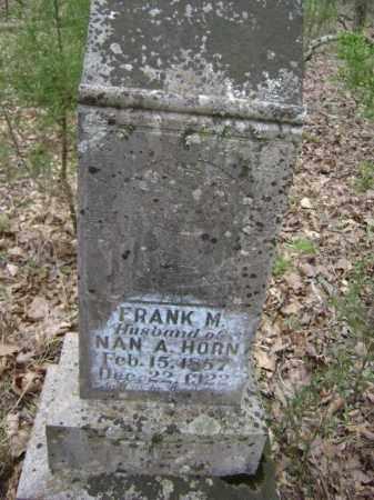 "HORN, FRANCIS M. ""FRANK"" - Lawrence County, Arkansas | FRANCIS M. ""FRANK"" HORN - Arkansas Gravestone Photos"