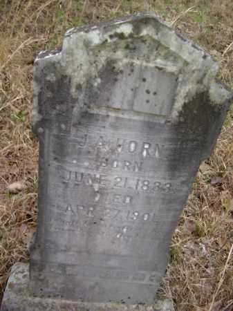"HORN (VETERAN CSA), JESSE A. ""J. A."" - Lawrence County, Arkansas   JESSE A. ""J. A."" HORN (VETERAN CSA) - Arkansas Gravestone Photos"