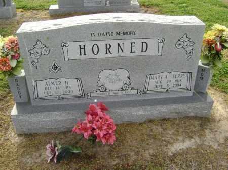 HORNED, ALMER HOUSTON - Lawrence County, Arkansas | ALMER HOUSTON HORNED - Arkansas Gravestone Photos