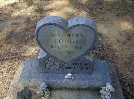 HORTON, JUSTIN MICHAEL - Lawrence County, Arkansas | JUSTIN MICHAEL HORTON - Arkansas Gravestone Photos