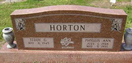 HORTON, PHYLLIS ANN - Lawrence County, Arkansas | PHYLLIS ANN HORTON - Arkansas Gravestone Photos