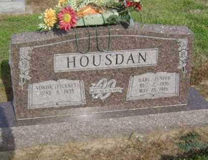 "HOUSDAN, JR., HARRELL JEFFERSON ""HARL"" - Lawrence County, Arkansas | HARRELL JEFFERSON ""HARL"" HOUSDAN, JR. - Arkansas Gravestone Photos"