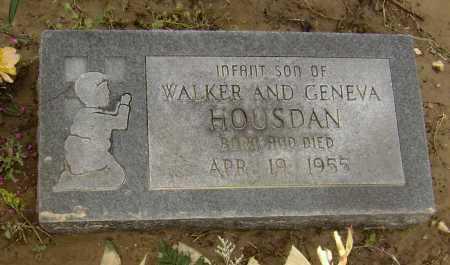 HOUSDAN, INFANT SON - Lawrence County, Arkansas   INFANT SON HOUSDAN - Arkansas Gravestone Photos
