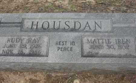 HOUSDAN, RUDY RAY - Lawrence County, Arkansas   RUDY RAY HOUSDAN - Arkansas Gravestone Photos