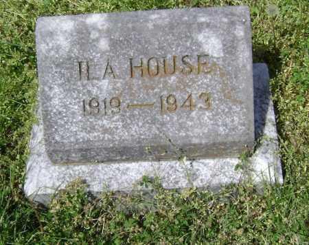 HOUSE, ILA - Lawrence County, Arkansas   ILA HOUSE - Arkansas Gravestone Photos