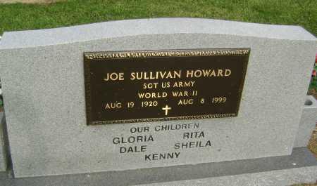 HOWARD  (VETERAN WWII), JOE SULLIVAN - Lawrence County, Arkansas | JOE SULLIVAN HOWARD  (VETERAN WWII) - Arkansas Gravestone Photos