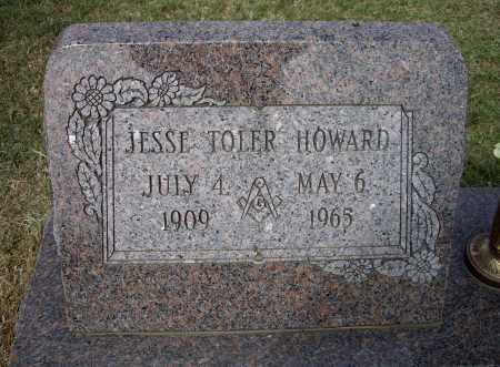 HOWARD, JESSE TOLER - Lawrence County, Arkansas | JESSE TOLER HOWARD - Arkansas Gravestone Photos