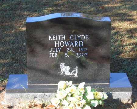 HOWARD, KEITH CLYDE - Lawrence County, Arkansas | KEITH CLYDE HOWARD - Arkansas Gravestone Photos