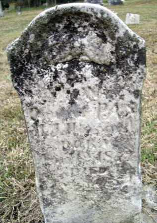 HOWARD, MARY W. - Lawrence County, Arkansas | MARY W. HOWARD - Arkansas Gravestone Photos